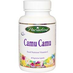 Paradise Herbs, Camu Camu, 60 Veggiekapseln