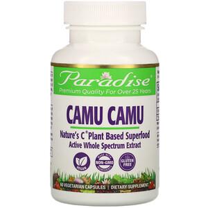 Парадайз Хербс, Camu Camu, 60 Vegetarian Capsules отзывы