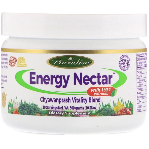Paradise Herbs, Энергетичекий нектар с чаванпрашем Vitality Blend, 300 г (10.58 oz) (Discontinued Item)