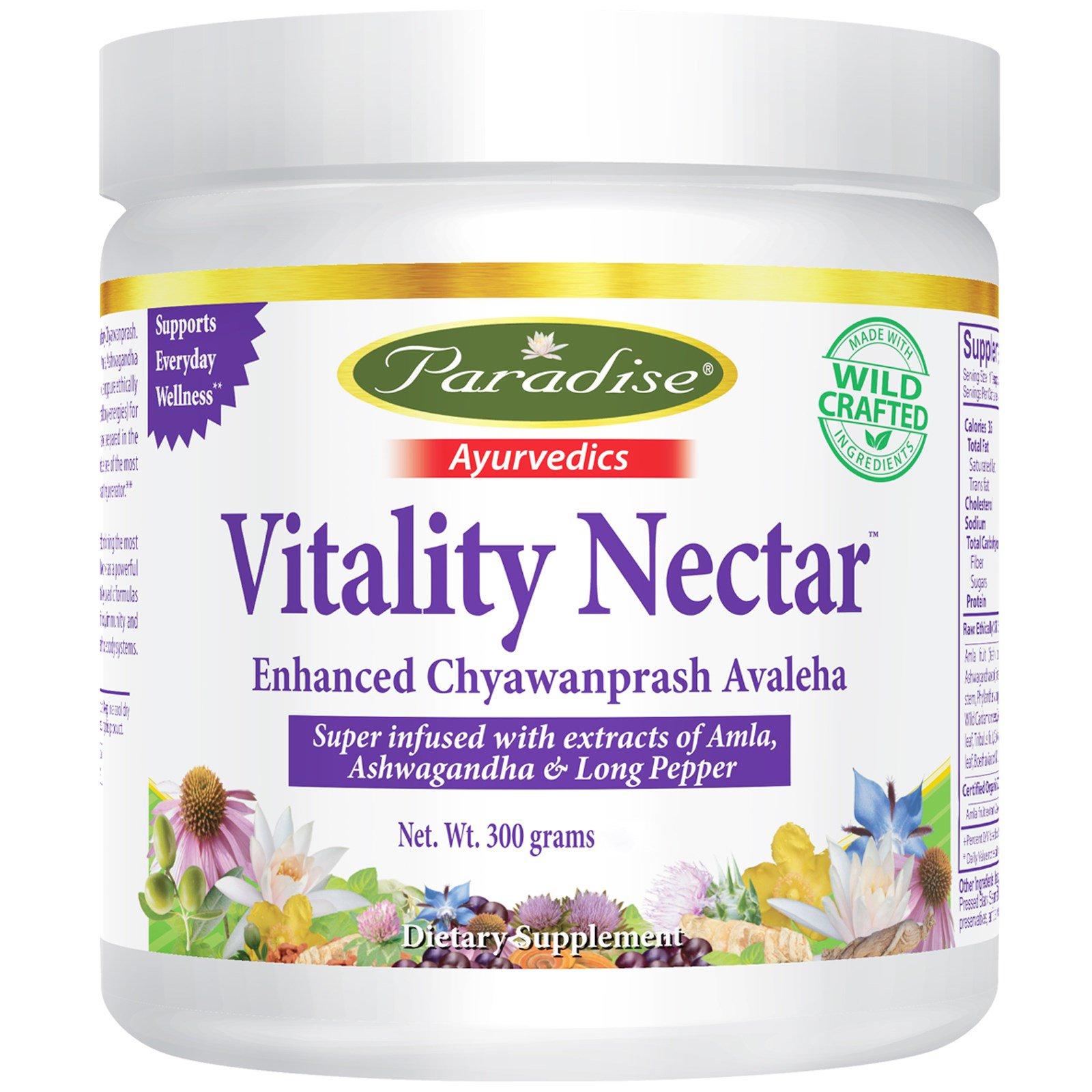 Paradise Herbs, Vitality Nectar, 10.58 унц. (300 г)