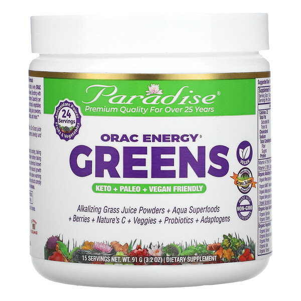 ORAC-Energy Greens, 3.2 oz (91 g)