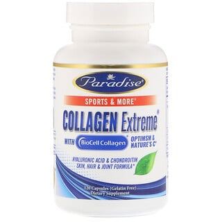 Paradise Herbs, Collagen Extreme with BioCell Collagen, 120 Capsules
