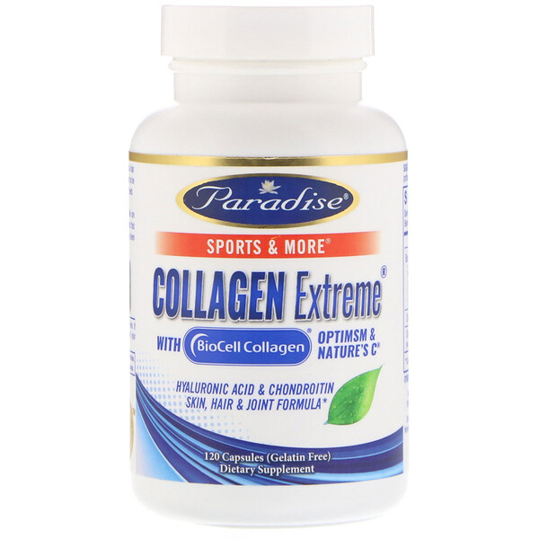 Collagen Extreme with BioCell Collagen, 120 Capsules