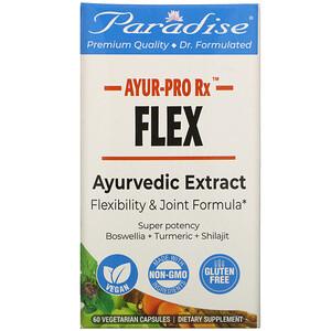 Paradise Herbs, AYUR Pro Rx, Flex, 60 Vegetarian Capsules