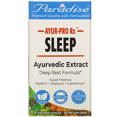 Paradise Herbs, AYUR-Pro Rx,睡眠,60 粒素食膠囊