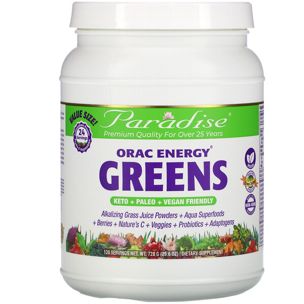 ORAC Energy Greens, 25.6 oz (728 g)