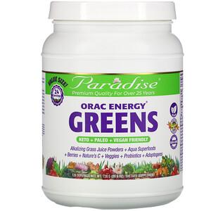 Paradise Herbs, ORAC Energy Greens, 25.6 oz (728 g)'