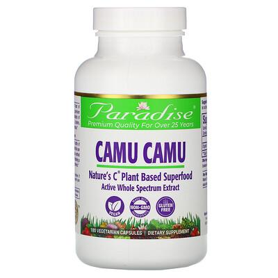 Paradise Herbs Camu Camu, 180 Vegetarian Capsules