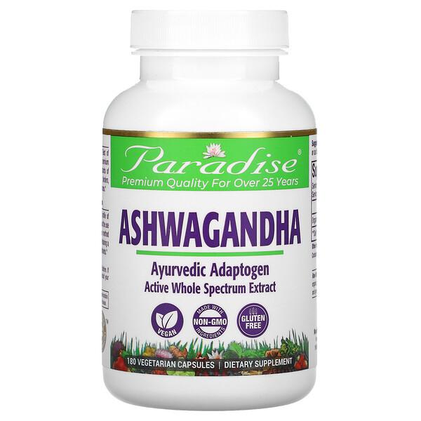 Ashwagandha, 180 Vegetarian Capsules