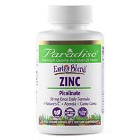 Paradise Herbs, Earth's Blend, Zinc, Picolinate, 90 Vegetarian Capsules