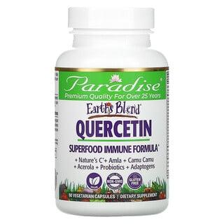 Paradise Herbs, Earth's Blend, Quercetin, Superfood Immune Formula, 90 Vegetarian Capsules