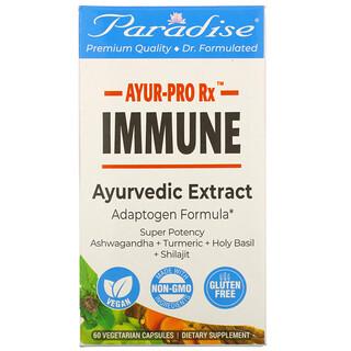 Paradise Herbs, AYUR-ProRx, иммунитет, 60вегетарианских капсул