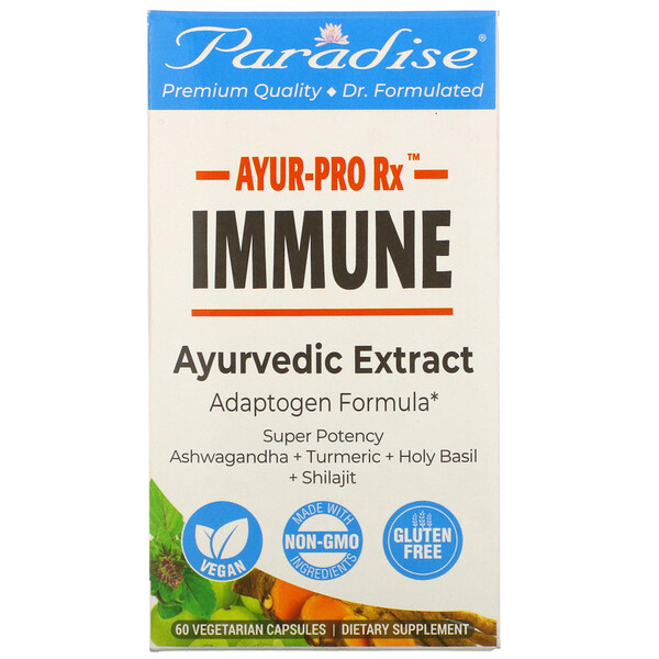 Ayur-Pro Rx, Immune, 60 Vegetarian Capsules