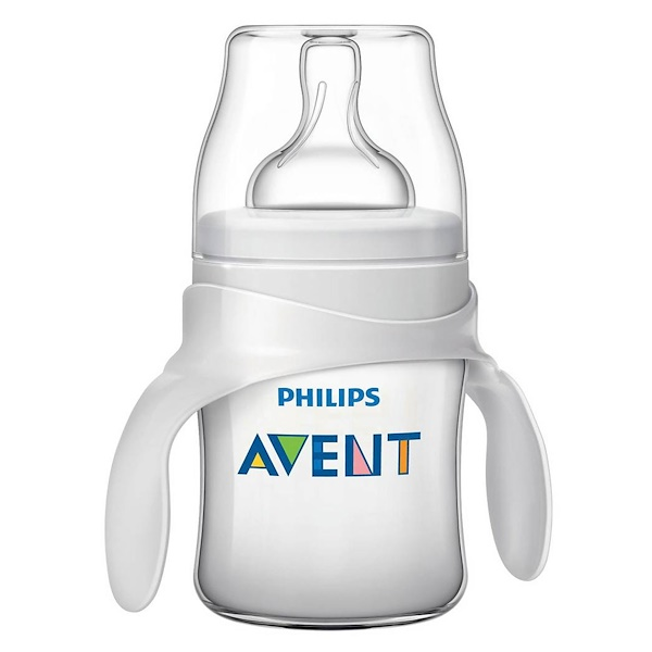 Philips Avent, Classic +, Transition Cup, 4 + Months , 4 oz (125 ml) (Discontinued Item)