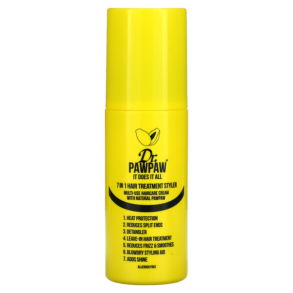 7-In-1 Hair Treatment Styler, Multi-Use Haircare Cream with Natural PawPaw, 5 fl oz (150 ml)