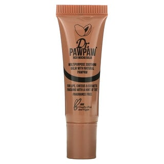 Dr. PAWPAW, Multipurpose Soothing Balm with Natural PawPaw, Rich Mocha, 0.33 fl oz (10 ml)