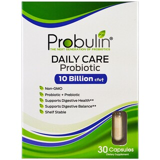 Probulin, Daily Care, Probiotic, 30 Capsules