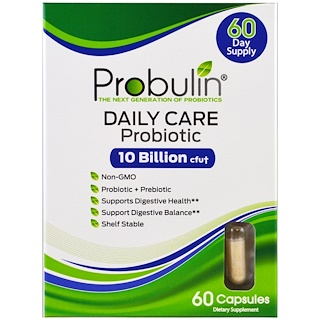 Probulin, Daily Care, Probiotic , 60 Capsules