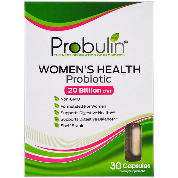 Probulin, Women's Health, пробиотик, 30 капсул