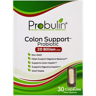 Probulin, Colon Support, Probiotic, 30 Capsules