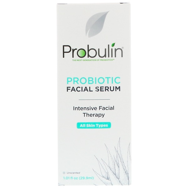 Probulin, Probiotic Facial Serum, Unscented, 1.01 fl oz (29.9 ml)