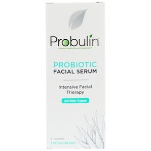 Пробулин, Probiotic Facial Serum, Unscented, 1.01 fl oz (29.9 ml) отзывы