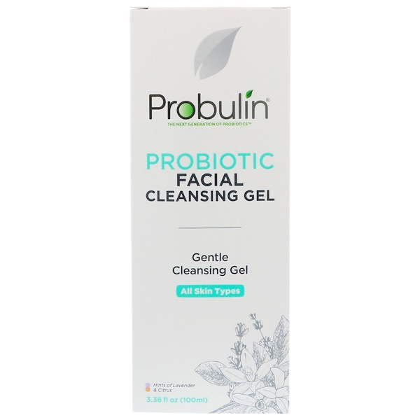 Probulin, Probiotic Facial Cleansing Gel, 3.38 fl oz (100 ml) (Discontinued Item)