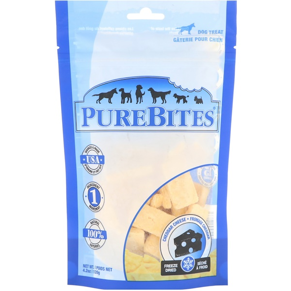 Freeze Dried, Dog Treats, Cheddar Cheese, 4.2 oz (120 g)