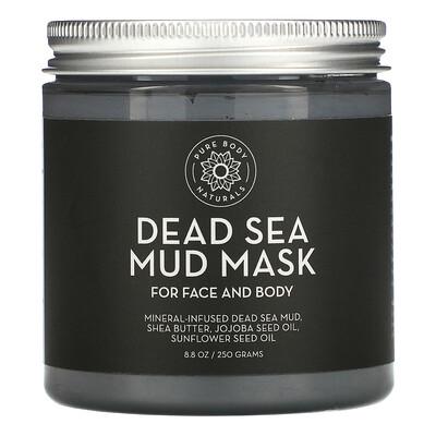 Купить Pure Body Naturals Dead Sea Mud Mask, 8.8 oz (250 g)