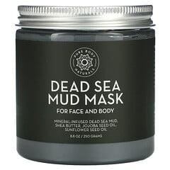 Pure Body Naturals, 死海泥面膜,8.8 盎司(250 克)