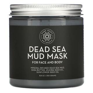 Pure Body Naturals, Dead Sea Mud Mask, 8.8 oz (250 g)