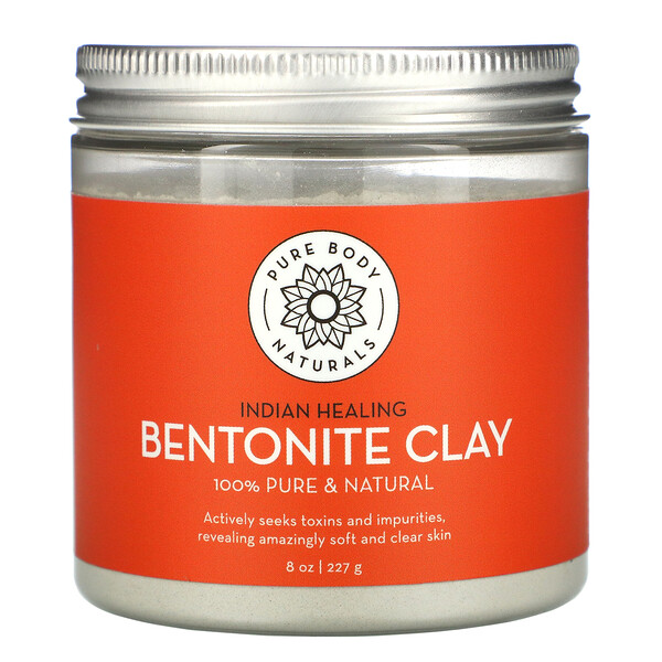 Indian Healing Bentonite Clay, 8 fl oz (227 g)