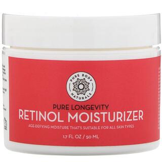Pure Body Naturals, كريم مكافحة التجاعيد آثار الشيخوخة Retinol Moisturizer،1.7 أونصة سائلة (50 مل)