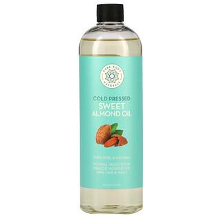 Pure Body Naturals, Sweet Almond Oil, 16 fl oz (473 ml)