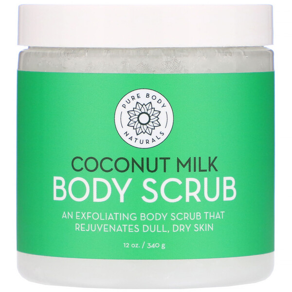 Coconut Milk Body Scrub, 12 oz (340 g)