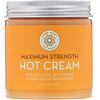 Pure Body Naturals, Maximum Strength Hot Cream, 8.8 fl oz (250 g)