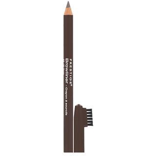 Prestige Cosmetics, كحل الحواجب كلاسيكي، بني ترابي اللون.04 أونصة (1.1 غرام)