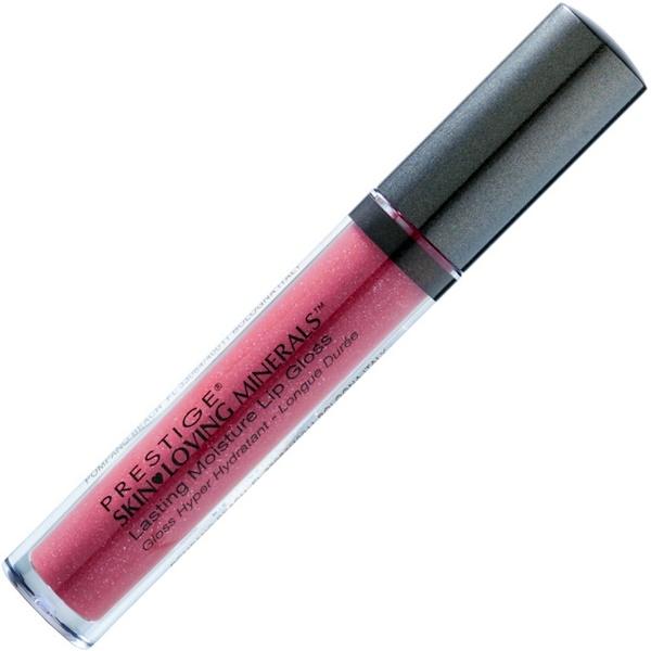 Prestige Cosmetics, Skin Loving Minerals, Lasting Moisture Lip Gloss, Cozy Plum, .09 fl oz (2.9 ml) (Discontinued Item)