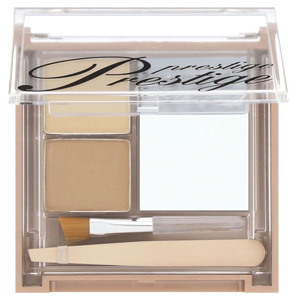 Prestige Cosmetics, ブロウシェイピングスタジオ、 ライト/ミディアム、 .10 oz (2.9 g) (Discontinued Item)