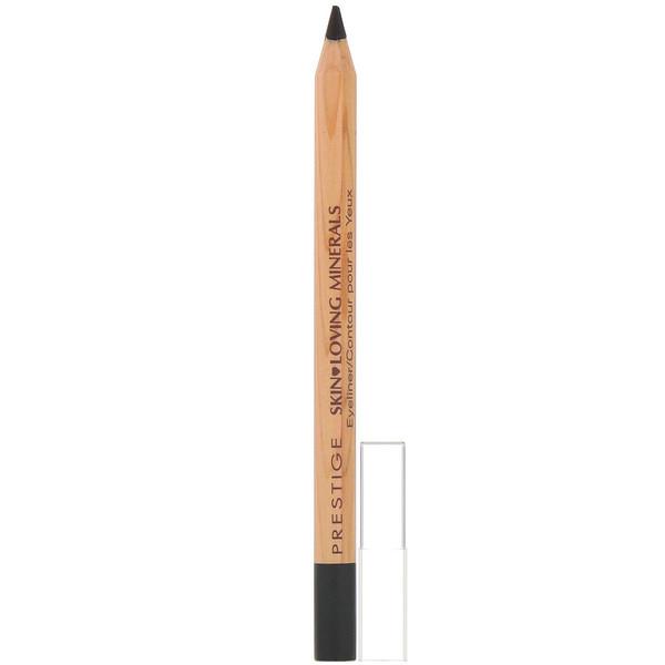 Prestige Cosmetics, Skin Loving Minerals Eyeliner, Onyx, .035 oz (1.08 g) (Discontinued Item)