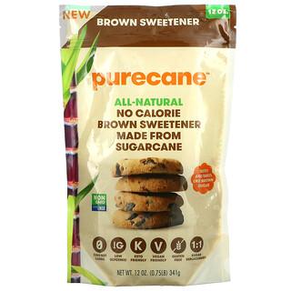 Purecane, No Calorie Brown Sweetener, 12 oz (341 g)