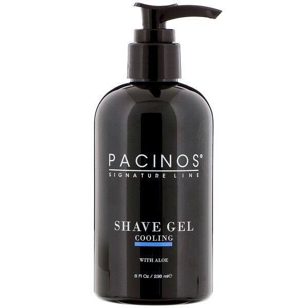 Pacinos, Shave Gel, Cooling, 8 fl oz (236 ml) (Discontinued Item)
