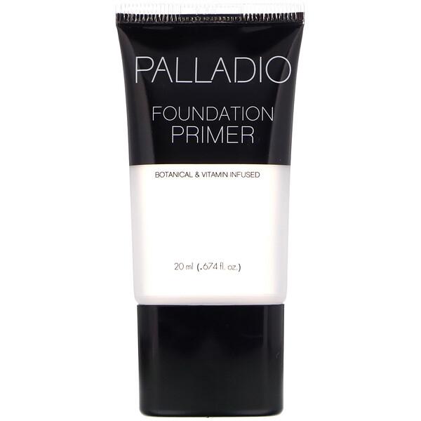 Palladio, Foundation Primer, 0.674 fl oz (20 ml) (Discontinued Item)