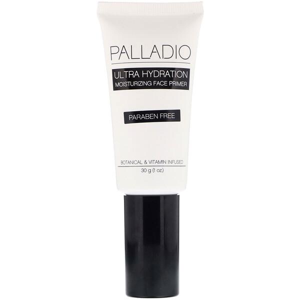 Palladio, Ultra Hydration, Moisturizing Face Primer, 1 oz (30 g) (Discontinued Item)