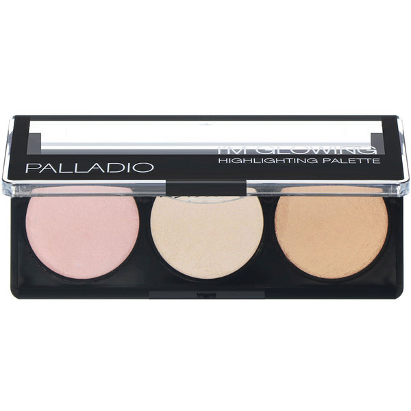 Palladio,  I'm Glowing, Paleta Iluminadora, 0,15 oz (4,5 g) Cada (Discontinued Item)