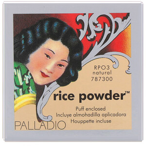 Palladio, Rice Powder, Natural, 0.60 oz (17 g) отзывы