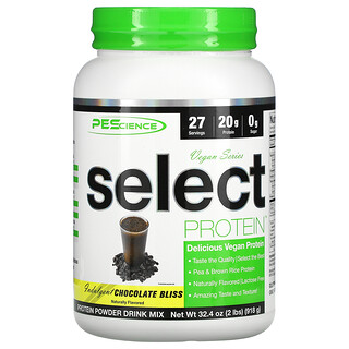 PEScience, Vegan Series, Select Protein, Chocolate Bliss, 32.4 oz (918 g)