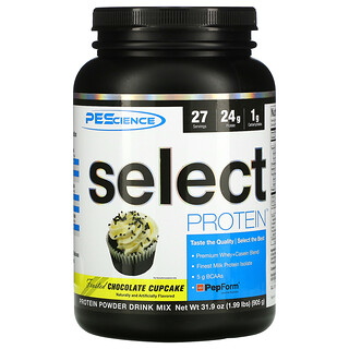 PEScience, Select Protein, Frosted Chocolate Cupcake, 31.9 oz (905 g)