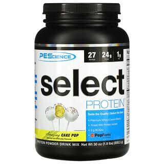 PEScience, Select Protein، طعم الكعك الرائع، 1.9 رطل (850 جم)