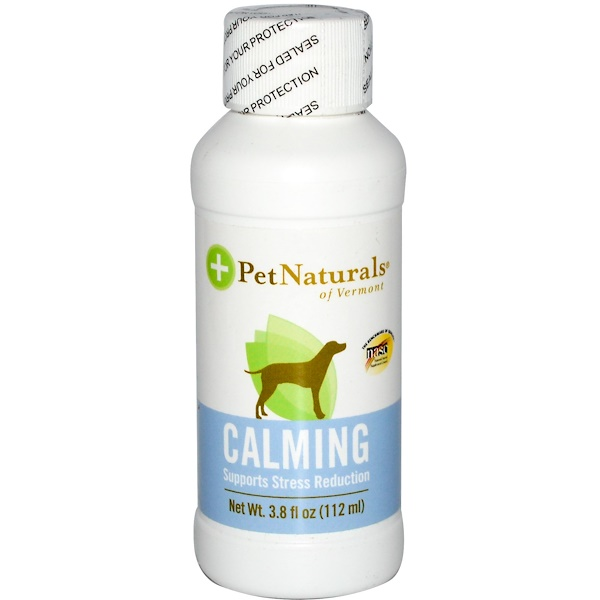 Pet Naturals of Vermont, Calming, For Dogs, 3.8 fl oz (112 ml) (Discontinued Item)